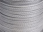Satin PP Cord 1.5mm x 20M - Silver